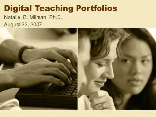 Digital Teaching Portfolios