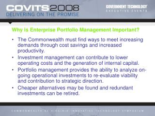 Why is Enterprise Portfolio Management Important?