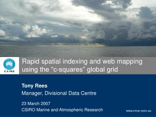 "Rapid spatial indexing and web mapping using the ""c-squares"" global grid"