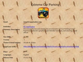 Extreme Car Parking FOR Android