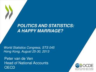 Politics and statistics:                 a happy marriage?