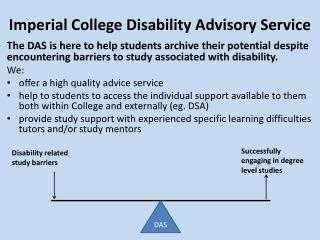 Imperial College Disability Advisory Service