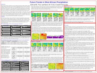 Future Trends in West African Precipitation