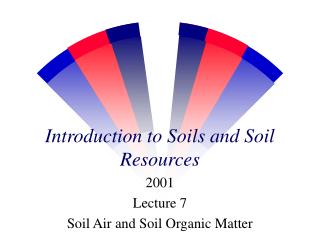 Introduction to Soils and Soil Resources
