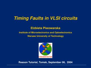 Timing Faults in VLSI circuits