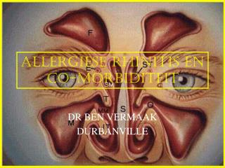 ALLERGIESE RHINITIS EN CO-MORBIDITEIT