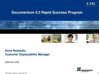 Documentum 5.3 Rapid Success Program