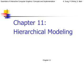 Chapter 11:  Hierarchical Modeling