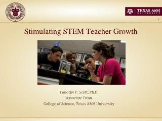 Stimulating STEM Teacher Growth