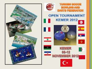 TURKISH BOCCE BOWLING AND DARTS FEDERATION