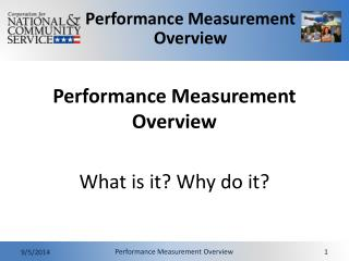 Performance Measurement Overview