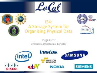 IS4: A Storage System for Organizing Physical Data