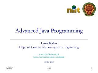 advanced java database programming pdf