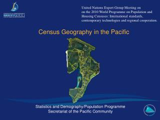 Census Geography in the Pacific