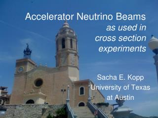 Accelerator Neutrino Beams as used in cross section experiments