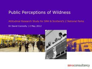 Public Perceptions of Wildness
