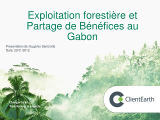 Forest Code in Gabon