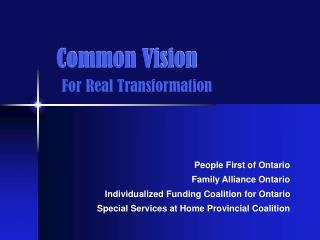 Common Vision