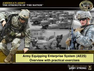 Army Equipping Enterprise System
