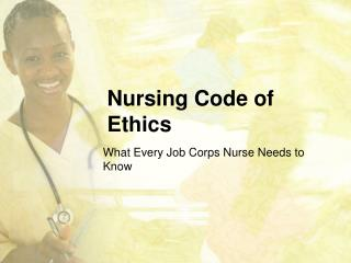 Nursing Code of Ethics