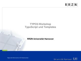 TYPO3-Workshop TypoScript und Templates