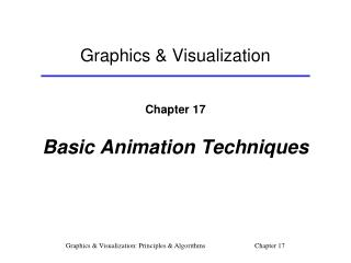 Graphics & Visualization