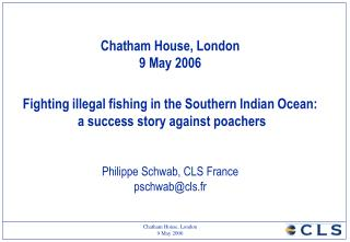 Protection of the fisheries in the South Indian Ocean