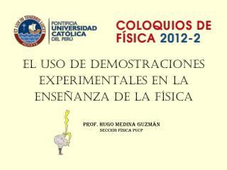 El uso de demostraciones experimentales en la enseñanza de la Física