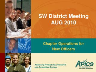 SW District Meeting AUG 2010