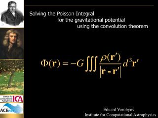 Solving the Poisson Integral                   for the gravitational potential