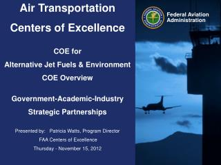 COE PROGRAM OVERVIEW