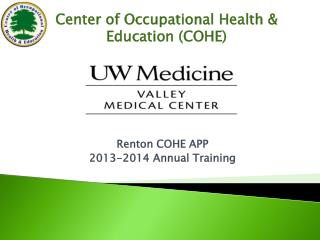 Center of Occupational Health & Education (COHE)