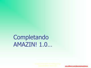 Completando AMAZIN! 1.0…