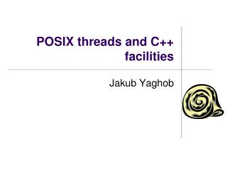 POSIX threads and C++ facilities
