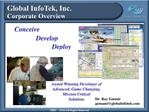 Global InfoTek, Inc. Corporate Overview