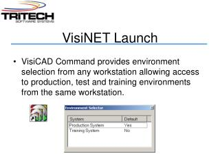 VisiNET Launch