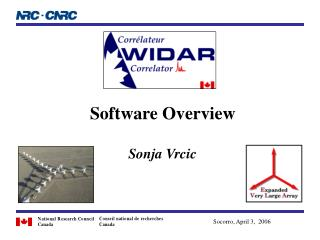 Software Overview Sonja Vrcic