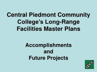 CPCC's Mission Statement