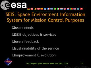 SEIS : The INTEGRAL Experience