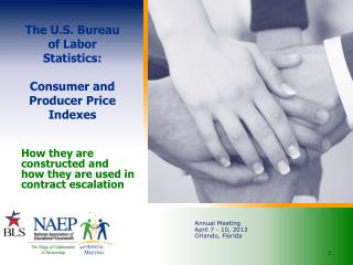 The U.S. Bureau of Labor Statistics:  Consumer and Producer Price Indexes