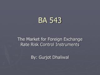 BA 543