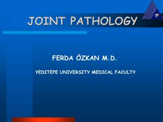 JOINT PATHOLOGY