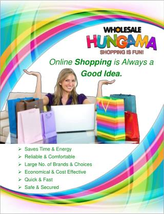 "Study of ""wholesalehungama.com"": India's leading E-commerce"