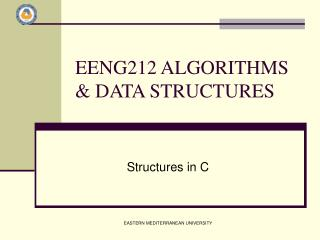 EENG212 ALGORITHMS & DATA STRUCTURES