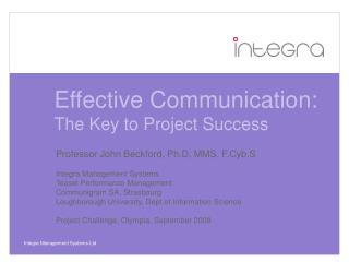 Effective Communication: The Key to Project Success