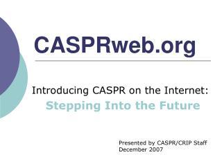 CASPRweb