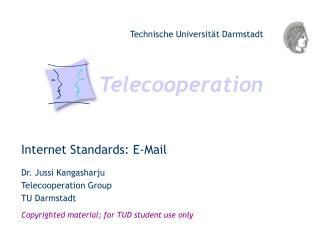 Internet Standards: E-Mail