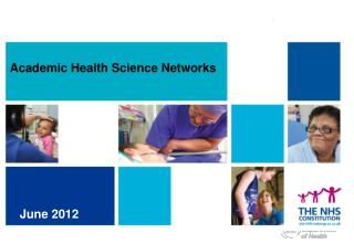 Academic Health Science Networks