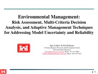 Environmental Management: