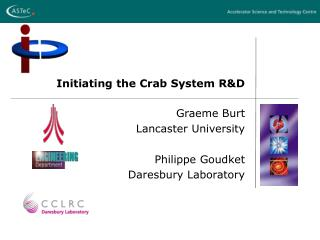 Initiating the Crab System R&D
